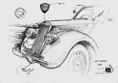 croquis Lancia Ardennes 1938 rallye Tintin 2016.jpg