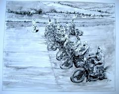 ladies moto on the beach.JPG