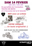expo,saint valentin,croquis, dessin,moto
