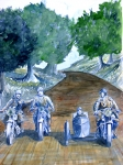 aquarelle affiche moto.JPG