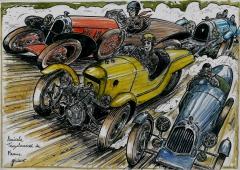 tricyclecaristes,morgan, sandford,darmont,dessin