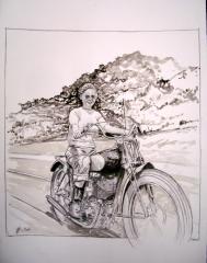 girl on the road.JPG