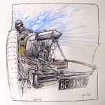 cyclecar,dessin